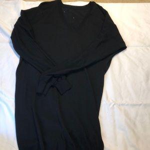 Alexander McQueen Asymmetrical Black Sweater dress